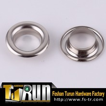 Nickel free brass metal apparel garment eyelets
