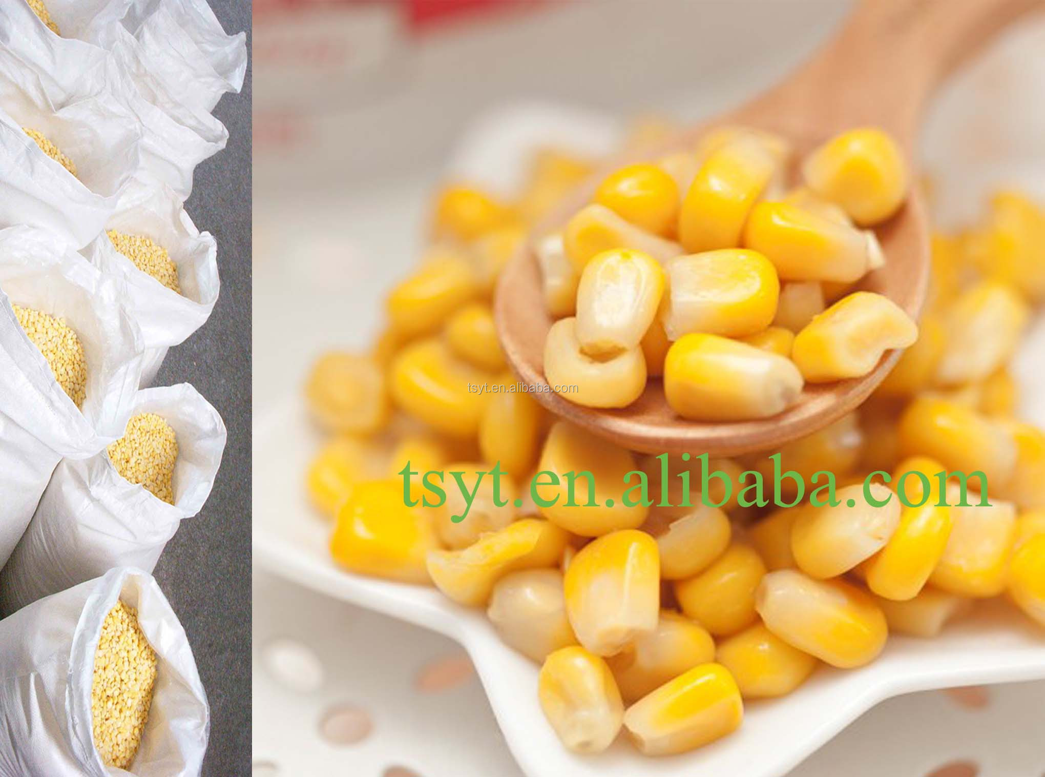 2015year wholesale iqf cooked steamed kernel sweet corn frozen food vegetables