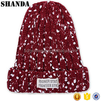 winter knitted wool hat cheap sports beanies wholesale hats and beanies  display stand 6c0475c7792