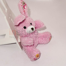 IN53477 Easter day pink soft plush rabbit
