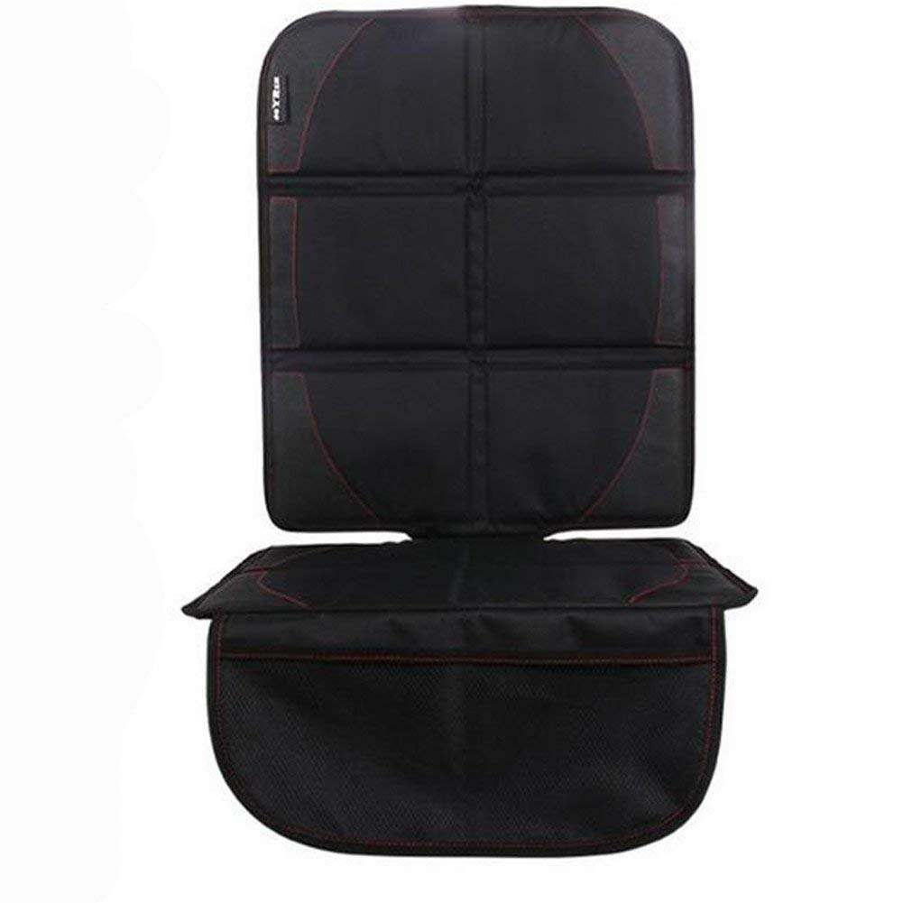Homeself Car Seat Protector with Top Straps For Child & Baby Cars Seats, Dog Mat , Adjustable Back Panel and Storage Pockets