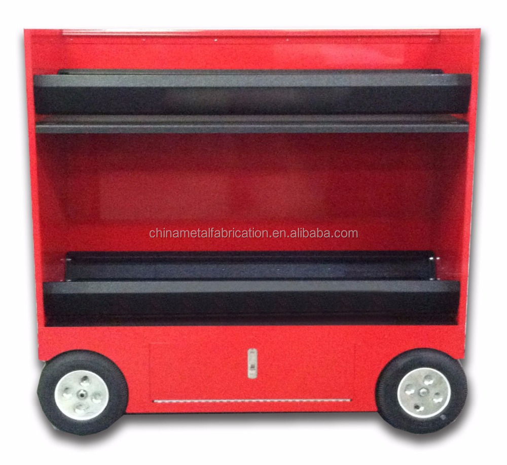 Kindleplate Mobile Rolling Metal Garage Tool Box Cart Cabinets by manufacture with 33 years in metal fabrication