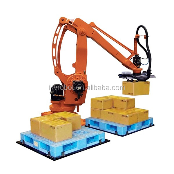 Competitive price second-hand robot palletizer for bags pallet