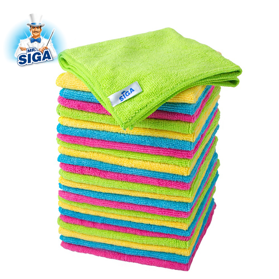MR SIGA household cleaning rags dish washing microfiber Cloth
