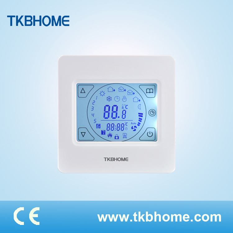 Decorative Heating Thermostat Touch Screen