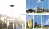 High Mast Lighting Steel Poles &towerportable Solar Light Tower ...