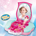 New Arrival Lighting selling boxed sets makeup girl children s dresser simulation play house toys For