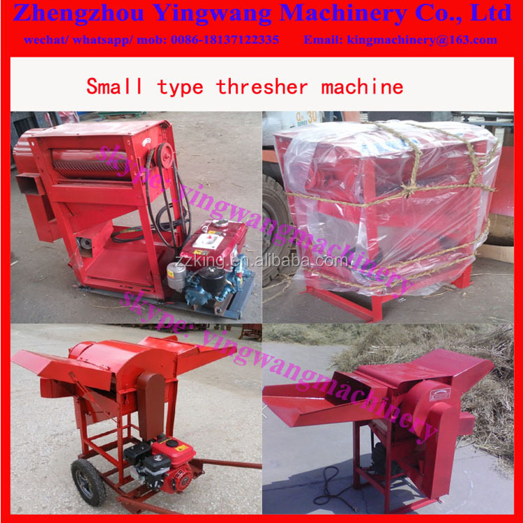 Small Mini Sorghum Barley Millet Soybean Wheat Buckwheat Oat Thresher And Sheller