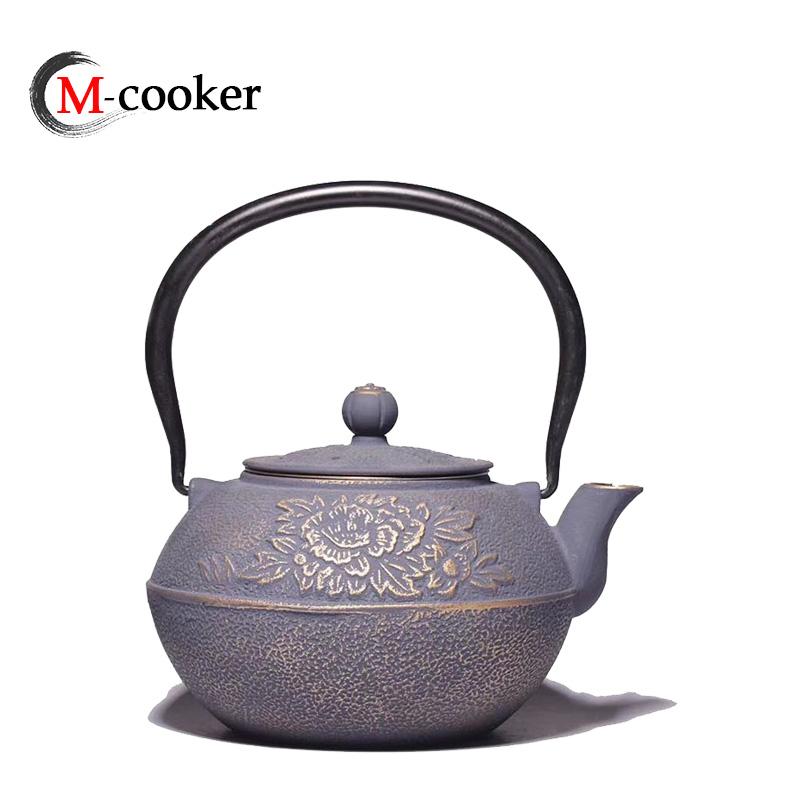 Cheap wholesale enamel cast iron tea kettle Chinese teapots