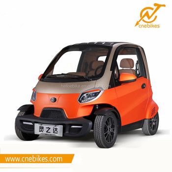 Smart control 2 seater mini 4 wheels auto electric car for sale