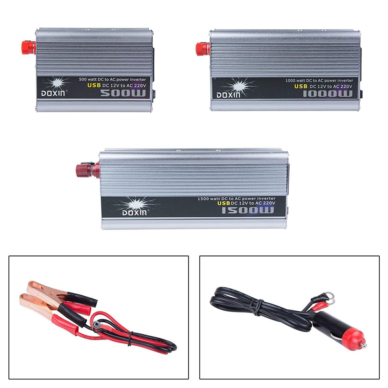 1500W Car Power Inverter Converter DC 12V to AC 220V Modified Sine Wave Power wi (1500W Car Power Inverter Converter DC 12V to AC 220V Modified Sine Wave Power wi)