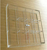 High Quality Clear Acrylic Tray With 12 Dividers