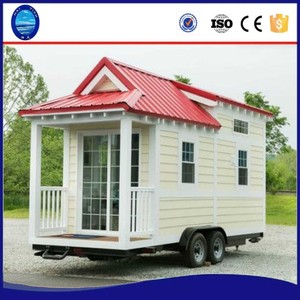 New Zeal Australian standard 20ft container trailer farm steel wooden movable tiny homes prefabricated green mobile house wheels