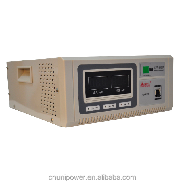 Electrical Equipment 5KVA Regulator Voltage and Frequency Stabilizer