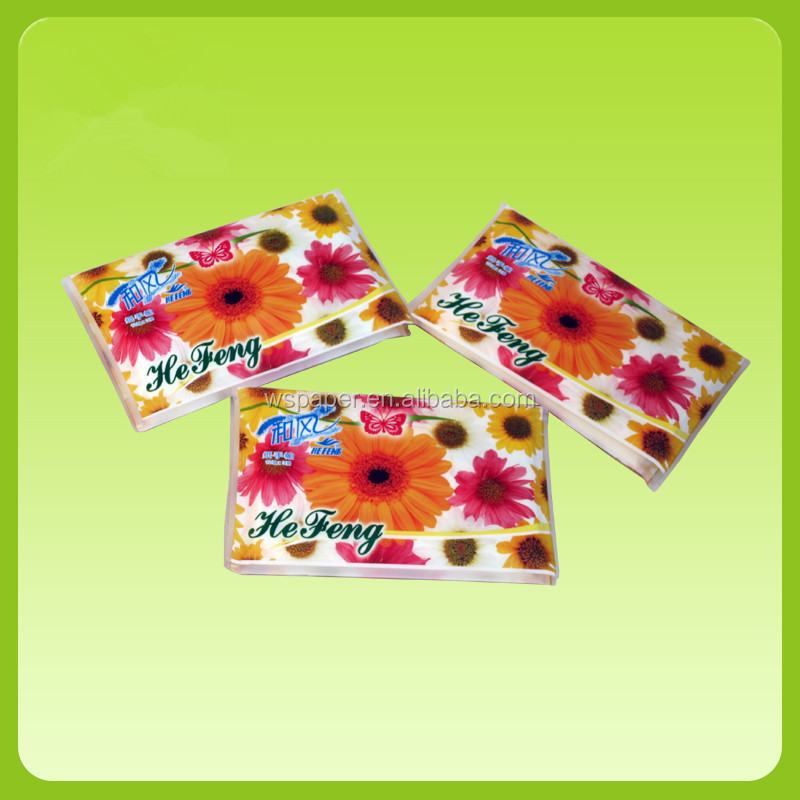 2 ply wallet facial tissue paper supplier/wallet pack tissue