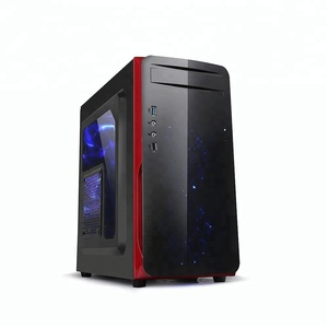 ATX Deluxe PC Case Acrylics Panel Gaming Computer Case