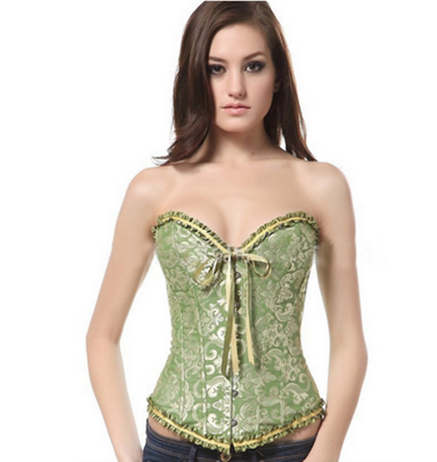 5ac8841f44 Get Quotations · 2015 Fashion Slimming Body Shapers Lace Waist Training  Cincher Corsets Women Waist Trainer Tops Design 6