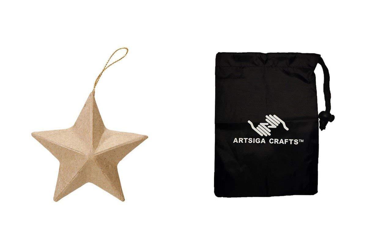 12-Pack Darice Paper Mache Ball Ornament 2 1//2 2833-55 Bulk Buy