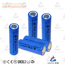 lithium ion battery ICR 18500 3.7v 1400mah battery for solar panel factory direct