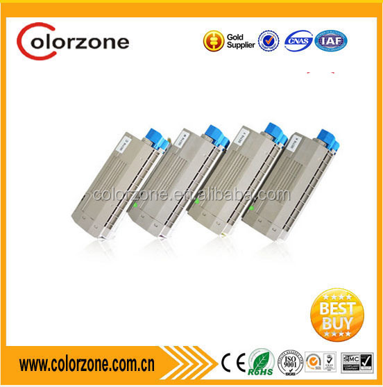 Compatible OKI C711 Toner Cartridge 44318608 44318607 44318606 44318605