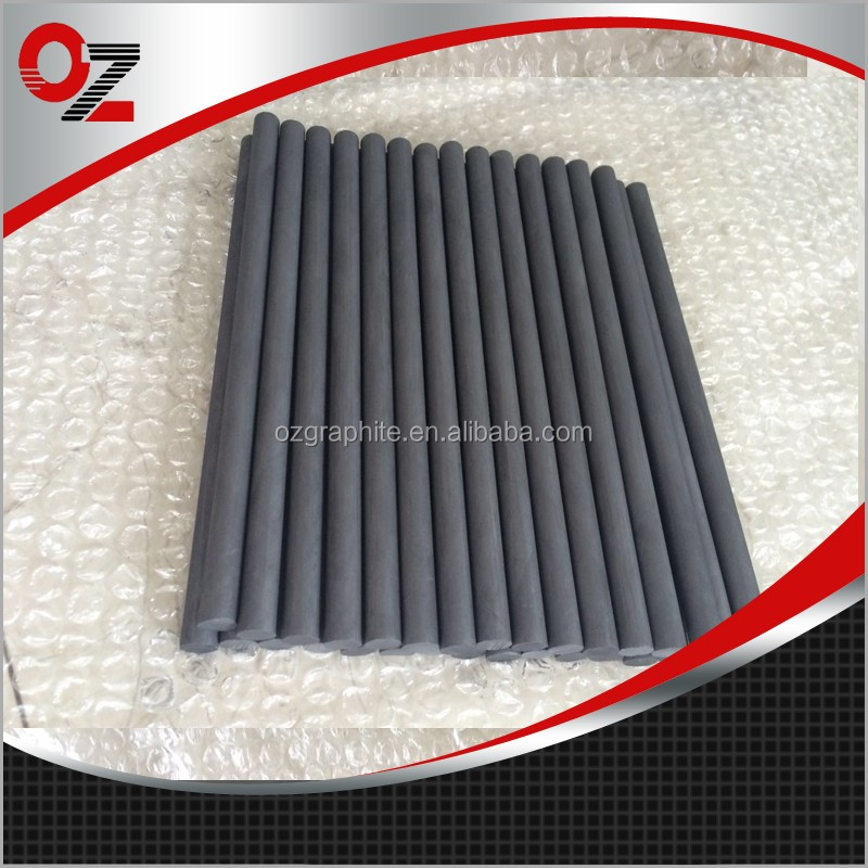 China Manufacturers low resistance graphite rod for alloy melting