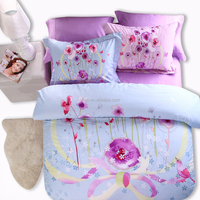 Alibaba China factory made best quality 100% cotton bedding sets