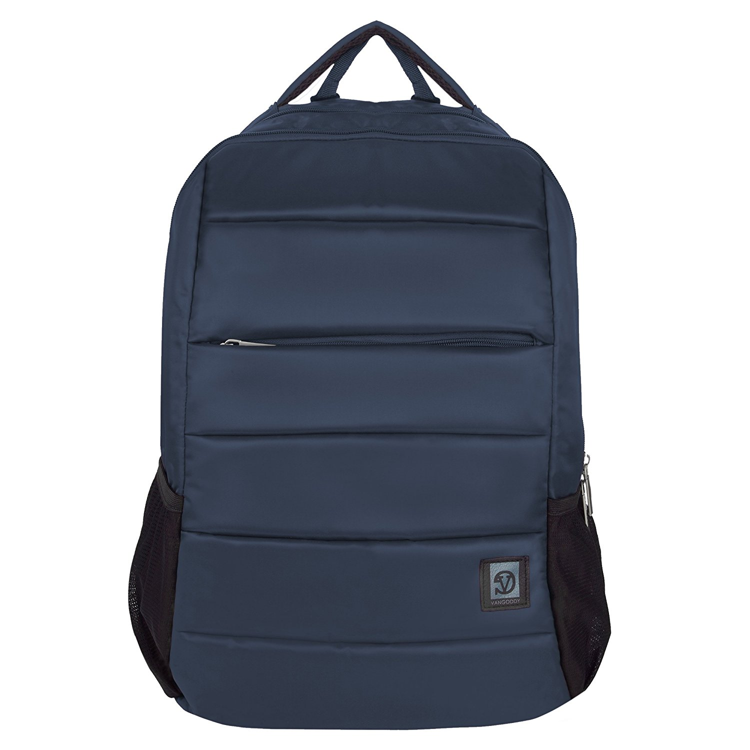 VanGoddy Supero Steel Blue Carry All Backpack for Samsung NoteBook 9 / Pro / Spin / ChromeBook / TabPro S / Up to 15inch