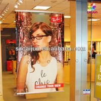 Customized window hanging poster printing