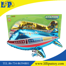 3 colors assorted aerated airliner toy for kids