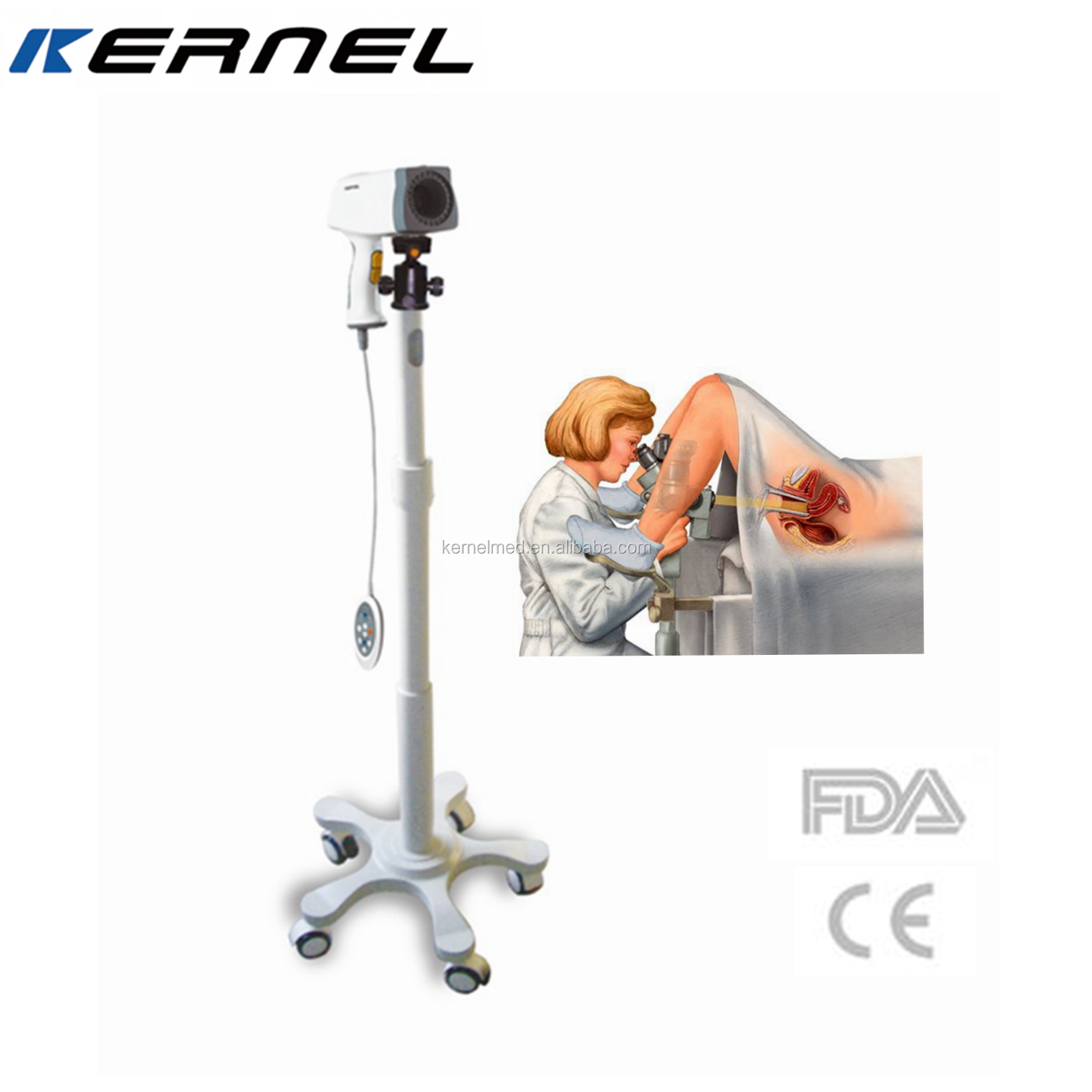 Handheld Colposcope Kernel Kn-2200 Digital Video