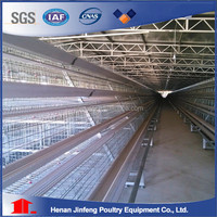 Hot-Galvanzied Cage Poultry Farming Equipment Battery Layer Chicken Cage Livestock Animal Husbnadry Equipment