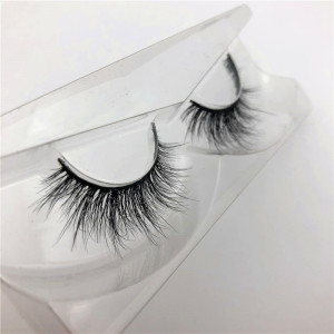 beauty channel eyelash 3d mink lashes and custom package with private label