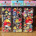 1 Pcs Cartoon animal stickers for kids rooms Home decor Diary Notebook Label Decoration toy red