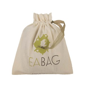 Double Cotton Drawstring Pouch Storage Bags with BSCI certificate