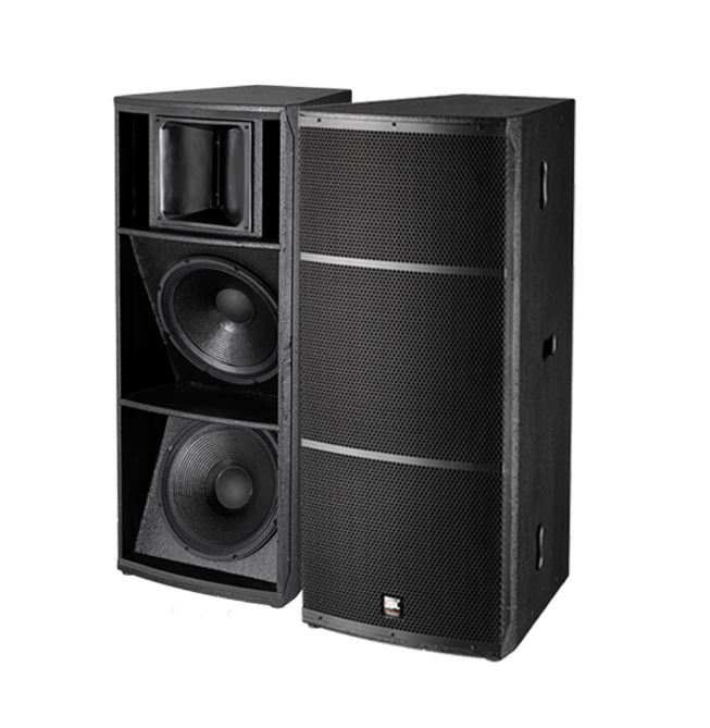 Empty Speaker Box Design Of Dual 15inch Pa Speaker - Buy Speaker ...