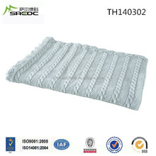 Chinese Exporter Knitted Cotton Baby Blanket