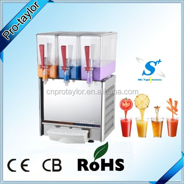 Stainless steel body hotel beverage dispenser