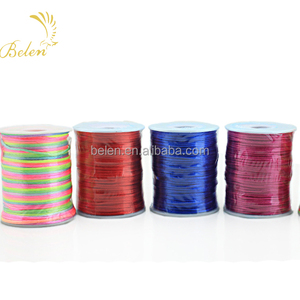 polyester silk cord for decoration