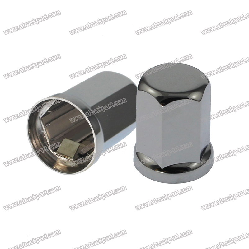 Removal Tool 21mm 20Pc Alloy Steel Wheel Nut Bolt Precision Chrome Cover Caps