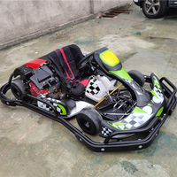 electric start go kart racing 6.5hp hydraulic brake