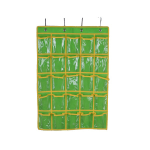 Wholesale Plastic Pockets Hanging Organizer with 25 Cubes