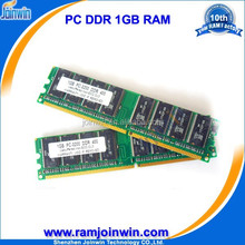 Full compatible 184pin 1gb ram memory pc3200 ddr sdram 400mhz