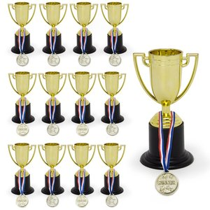Custom Metal Trophy Cups Gold Blank Metal Award Sport Trophy For Souvenir Gift