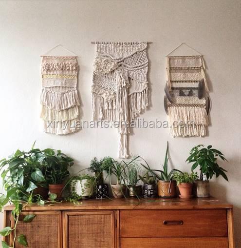 Home Decor Macrame Wall Art With Tassel Handmade
