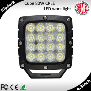 Latest Car Accessories Tuning LED Truck Light Big 24V Cube LED Work Lights For Truck