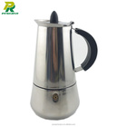 Home Application Mini Coffee Maker Espresso Stainless Steel Percolator