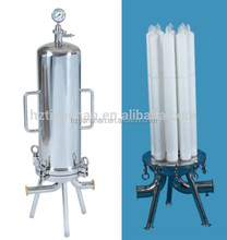 China manufacturer supply stainless steel filter cartridge housing membrane separation for beer filtration