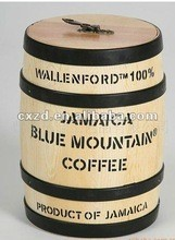 Wooden coofee barrel ,wooden packing barrel,high quality wooden barrel for candy