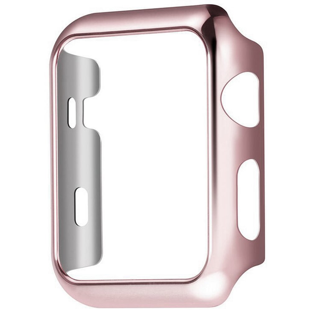 Apple Watch Series 2 Case - UniqueKay Ultra Slim & Light Weight Shiny Case for Apple iWatch S2 Series 2 38mm - Rose Gold
