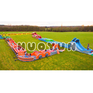 Commercial Indoor The Beast Inflatable Obstacle Course For Sale